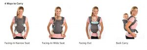 Infantino-4-in-1-baby-Carrier-4-ways-to-carry-position