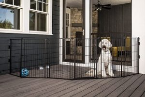 Carlson-3-in-1-Outdoor-144-Inch-Wide-Pet-Gate-weather-resistant